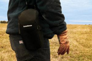 Використовуйте сумку для перенесення та для зберігання пристрою GrainSense
